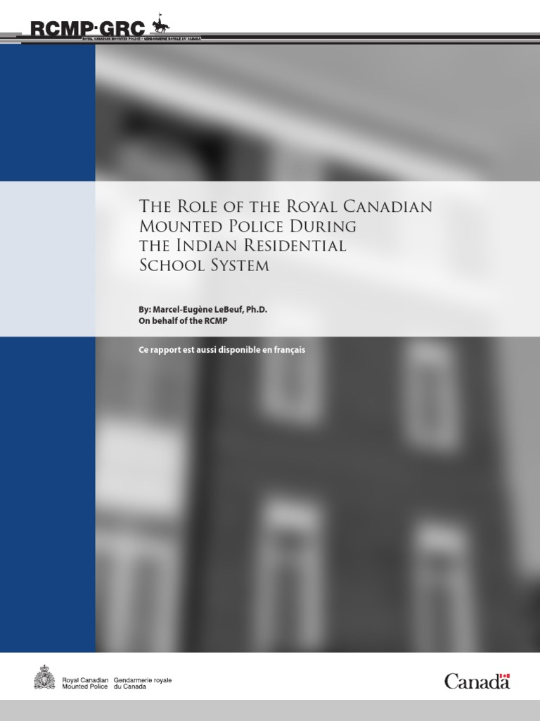 Indian residential schools system royal canadian mounted police indian residential schools system royal canadian mounted police police publicscrutiny Choice Image