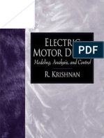R. Krishnan - Electric Motor Drives Modeling, Analysis, And Control