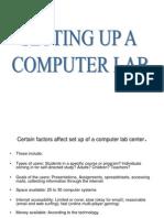 computer lab setup