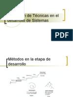 Técnicas en Desarrollo de Software