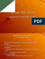 Clase Transact SQL Server