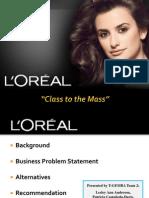 Loreal Case Analysis Final