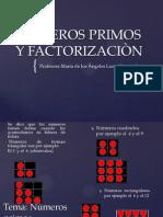 NUMEROS PRIMOS Y FACTORIZACIÒN