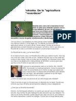 Masanobu Fukuoka - Agricultura Natural - Interview in Spanish - Permacultura