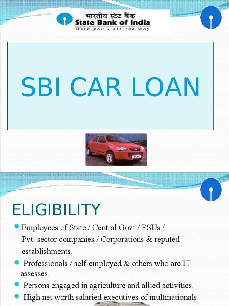 Sbi Car Loan 1