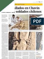 Investigación antropológica e histórica sobre descubrimientos en Chavín