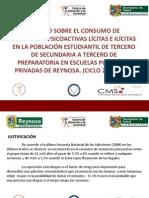 Estudio Sobre Adicciones en Reynosa, Tam - 09.05