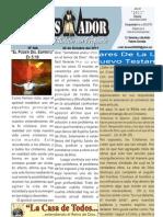 """2011-10-30 Boletín Semanal """"El Conquistador"""" de la Casa de Todos"""