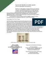 Podešavanje Fuel Pressure Regulator