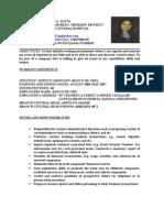 Resume of Maan