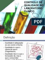 Controle de Qualidade No Lab Oratorio Clinico1