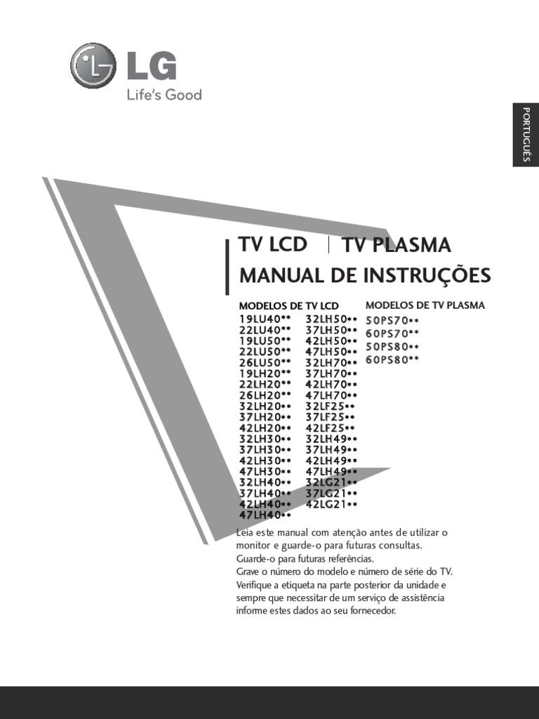 32LH3000 MANUAL PDF
