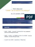 CMDB Theorie a La Pratique