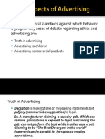 Ethical Aspects of Advertising