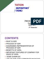 GDR Presentation