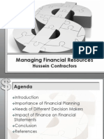 Managing Financial Resources