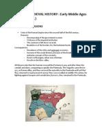 Spanish Medieval History