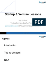 Founder & Venture Lessons