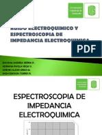 Ruido Electroquimico y Espectroscopia de cia Electroquimica