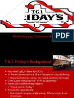 Consumer Behavior - TGIF