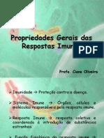 1.Propriedades Gerais Das Respostas Imunes