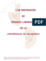 Plan Prevencion Riesgos Laborales