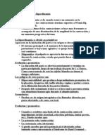 Fisiopatologia de la hiperdinamia