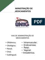Administração de medicamentos[1]