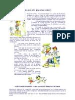 Sfaturi pentru copii şi adolescenţi