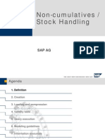Non-Cumulatives - Stock Handling