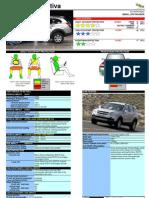 Chevrolet Captiva Datasheet