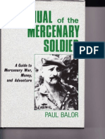 Manual of the Mercenary Soldier
