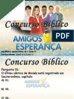 Concurso Bíblico 2011 - 10