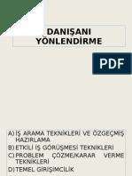 DaniŞani Yonlendirme