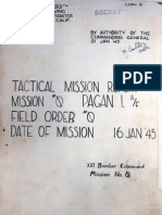 XXI Bomber Command, Tactical Mission Report 0