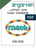 CCSS Math K