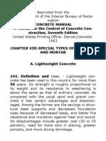 Lightweight Concrete Manual