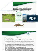 EPA multi-pollutant test (NOx, SOx) for Acid Sensitive Ecoregions July 2011 pilot