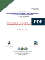 Sist. integrado de tratamiento y uso de aguas residuales domésticas de maracaibo