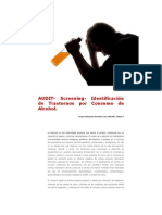 AUDIT- Screening- Identificación de Trastornos por Consumo de Alcohol.