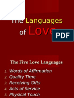 Ordev C Relationships the Five Love Languages