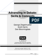 Advancing in Debate- Skills and Concepts
