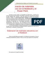 Elaboración de materiales educativos con el Notebook