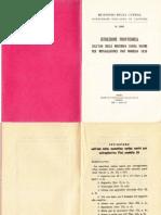 Istruzione Provvisorio Sull'Uso Della Macchian Carica Nastri Per Mtr Fiat Mod 1935
