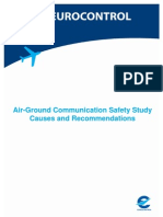 Air-Ground Communication Safety Study