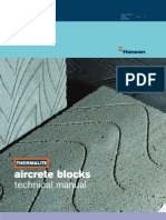 Aircrete Blocks Technical Manual