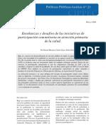 Atencion Primaria y Participacion