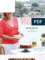 My Favourite Food For All Seasons by Janelle Bloom FREE Berry Custard Slice Recipe Sampler