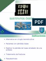 SUSTITUTOS OSEOS