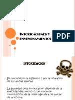Intoxicaciones y envenenamientos 2011